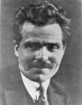 Makhno photographed in exile