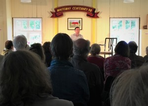 Speaking at Whiteway